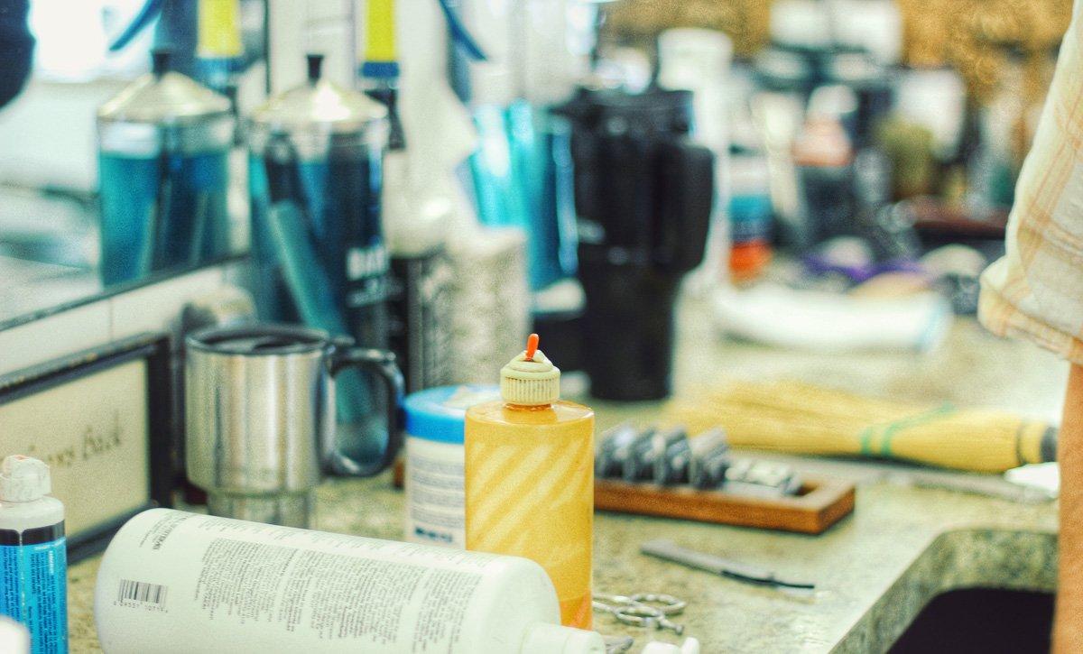 gent's classic barbershop menomonee falls wisconsin counter tools and products