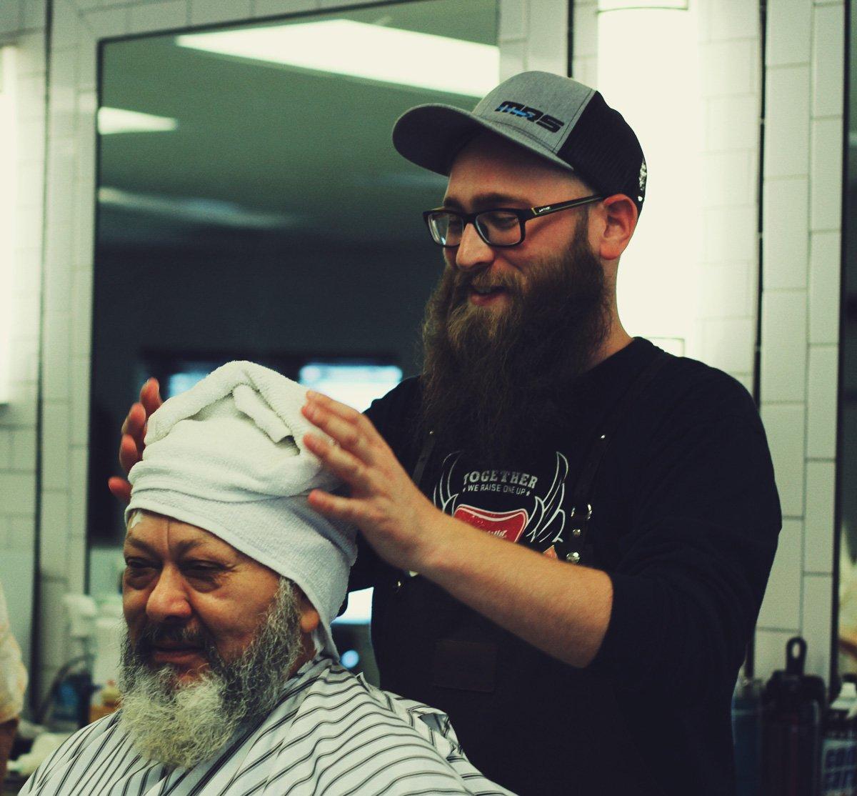 gent's classic barbershop menomonee falls wisconsin will beard trim hot towel