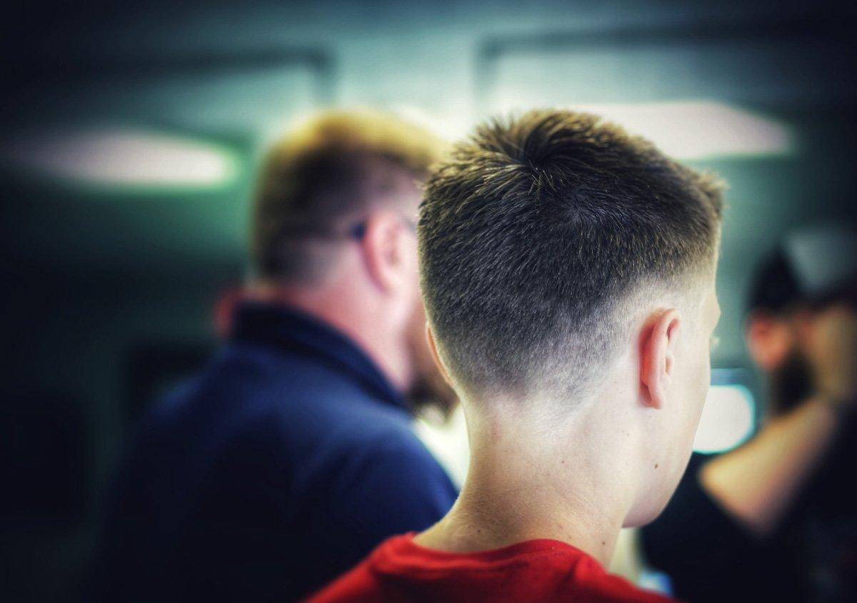 gent's classic barbershop menomonee falls wisconsin young men hair cuts fade