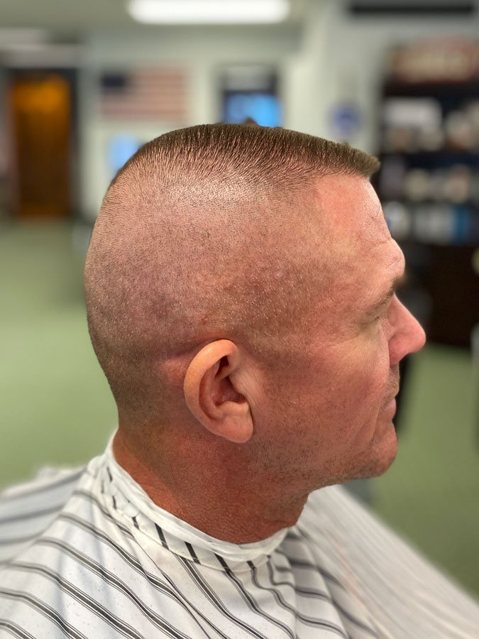 best army haircu flat top and straight razor barber in milwaukee