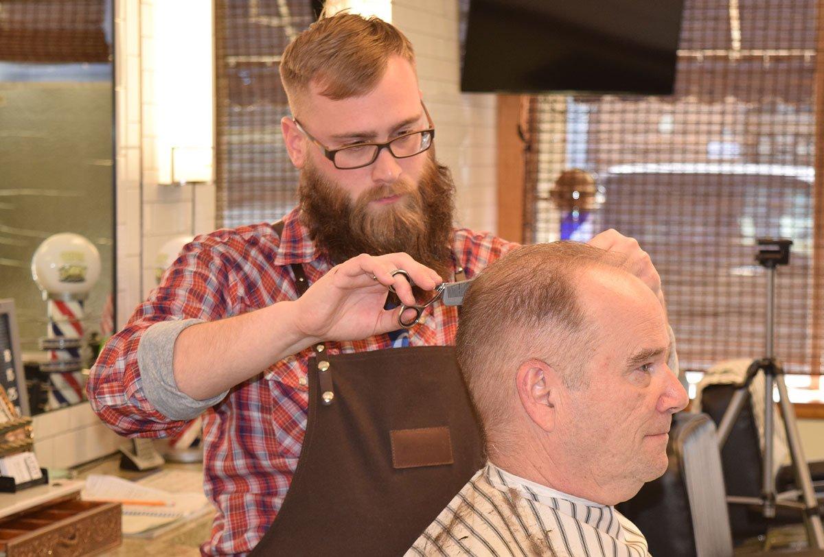 gents classic barbershop in menomonee falls will giving a haircut