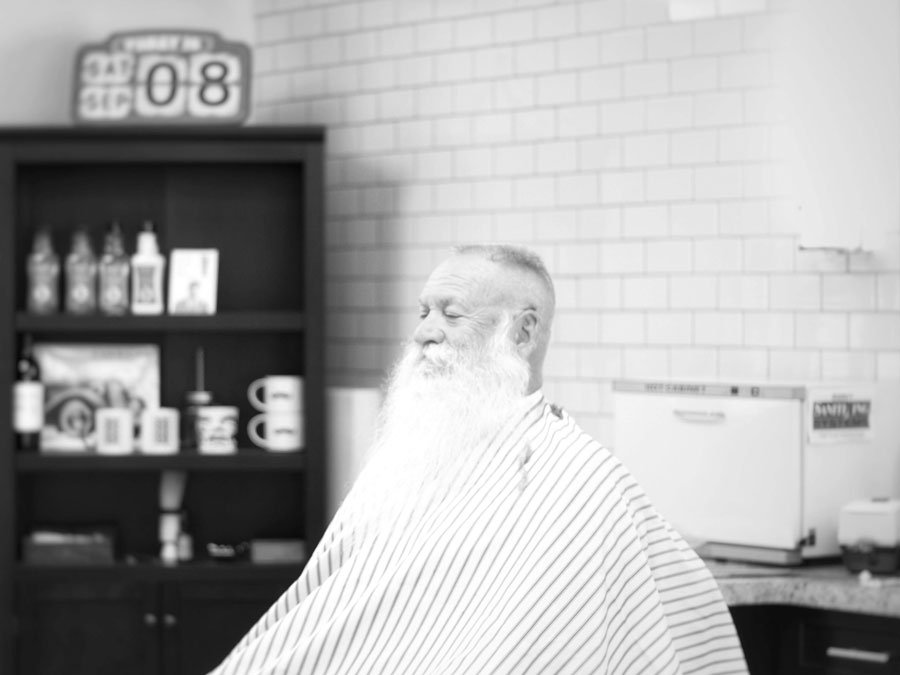 nearby professional mens beard grooming and flat top haircut